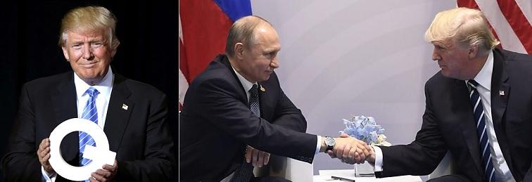 トランプ大統領とプーチン大統領